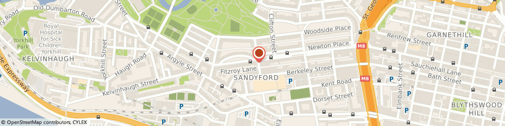 Route/map/directions to Family Asset Protection Company (Scotland) Limited, G3 7RH Glasgow, 2 Fitzroy Place