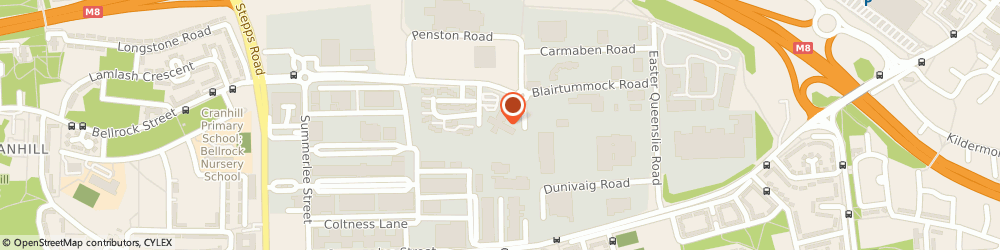 Route/map/directions to Integrated Storage Products Limited, G33 4EL Glasgow, 1 Lonmay Rd