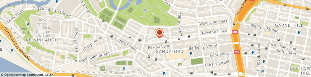 Route/map/directions to Sculpta Cosmetic Clinic, G3 7SL Glasgow, 13 Royal Cres