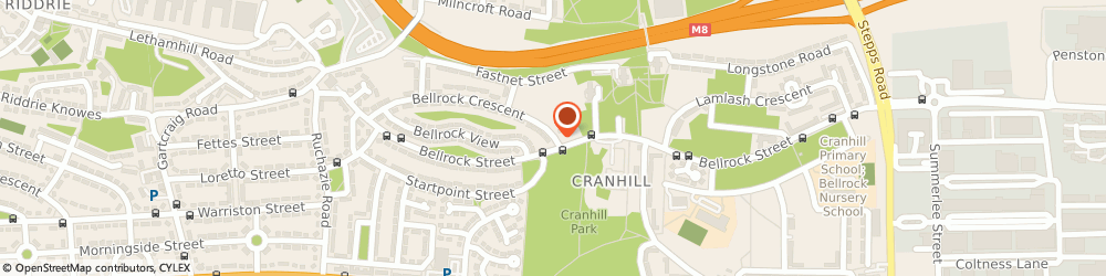 Route/map/directions to St. Modan S Primary School, G33 3HF Glasgow, 109 BELLROCK CR