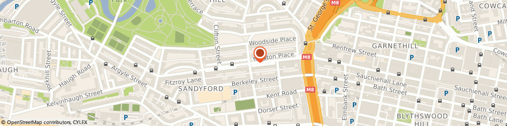 Route/map/directions to Roger Foxwell, G3 7PR Glasgow, Technology House, 9 Newton Place, Sauchiehall Street