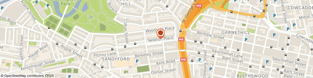 Route/map/directions to Drummond Management, G3 7PR Glasgow, 10 NEWTON PLACE