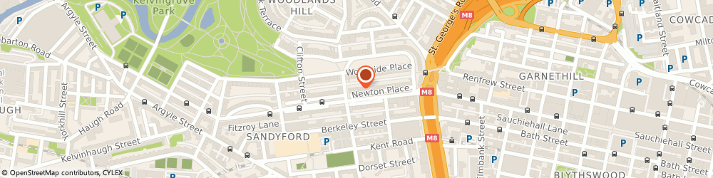 Route/map/directions to Levy McCallum Ltd, G3 7PR Glasgow, 4 Newton Place