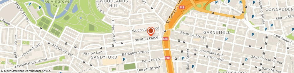 Route/map/directions to CCRS Brokers Ltd, G3 7PY Glasgow, 15 Newton Pl