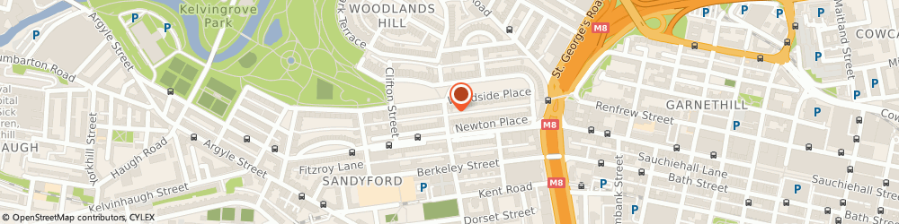 Route/map/directions to The Acorn Hotel, G3 7AW Glasgow, 140 Elderslie St