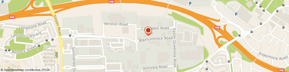 Route/map/directions to I Care (GB) Ltd, G33 4ED Glasgow, 239 Blairtummock Road