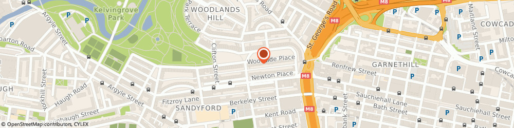 Route/map/directions to Raytel Security Systems Limited Glasgow, G3 7QL Glasgow, 20-23 Woodside Place
