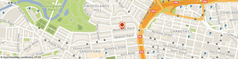 Route/map/directions to Edera Bespoke Limited, G3 7QL Glasgow, 20 Woodside Place