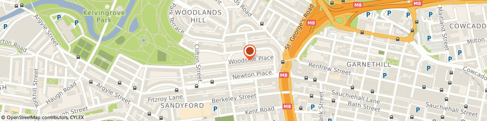 Route/map/directions to Family Mediation West, G3 7QL Glasgow, 19 Woodside Place
