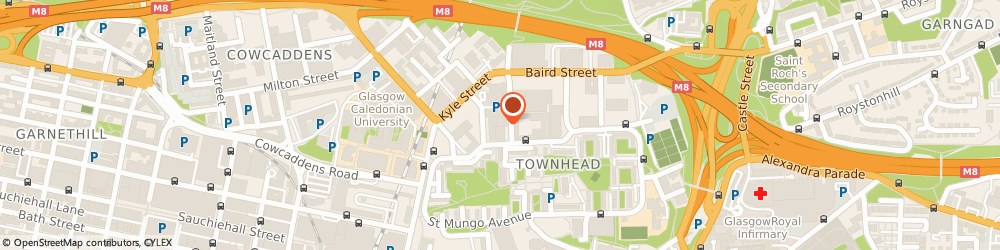 Route/map/directions to Pointer Business Equipment Limited, G4 0DT Glasgow, 65 NORTH WALLACE ST