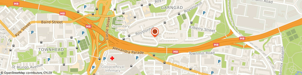 Route/map/directions to James Nisbet Housing Co-Operative Ltd, G21 2LH Glasgow, 98 JAMES NISBET STREET