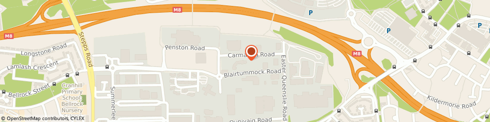 Route/map/directions to Alan Timmins, G33 4ED Glasgow, 253-257 BLAIRTUMMOCK ROAD