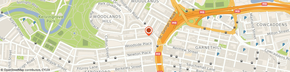 Route/map/directions to Ilm Financial Limited, G3 7UY Glasgow, 4 Woodside Terrace