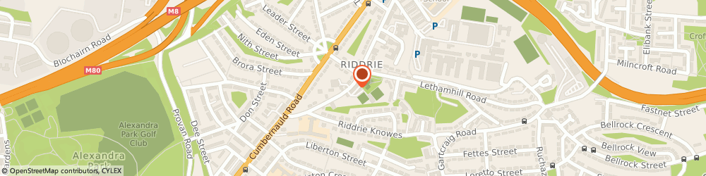 Route/map/directions to Riddrie Dental Practice, G33 2RQ Glasgow, 98 Smithycroft Road