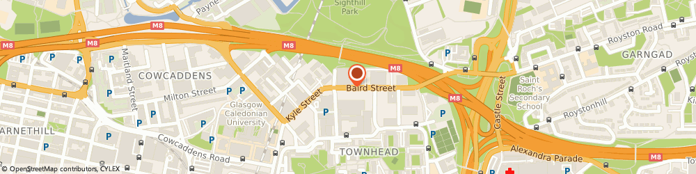 Route/map/directions to Blocked Drains Glasgow, G9 8HN Glasgow, 46 BAIRD STREET