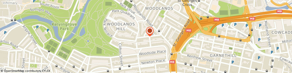 Route/map/directions to Davie & Mcculloch, G3 6EF Glasgow, 17 Lynedoch Street