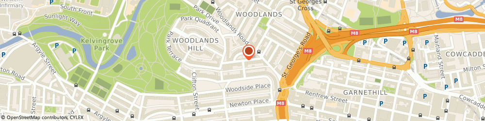 Route/map/directions to Nicolson Accountancy LLP, G3 6EF Glasgow, 31 Lynedoch St