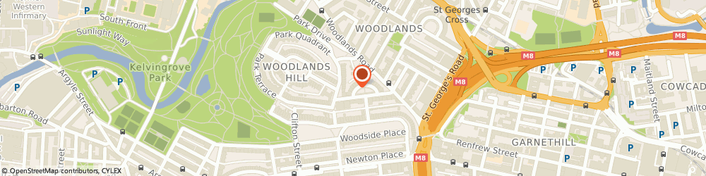 Route/map/directions to Auto Prep Ltd, G3 6EQ Glasgow, 17 LYNEDOCH CRES