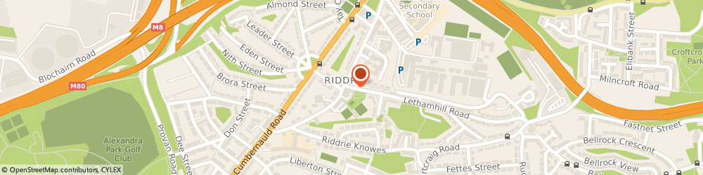 Route/map/directions to D S d Scotland Ltd, G33 2RG Glasgow, 2 Lethamhill Rd