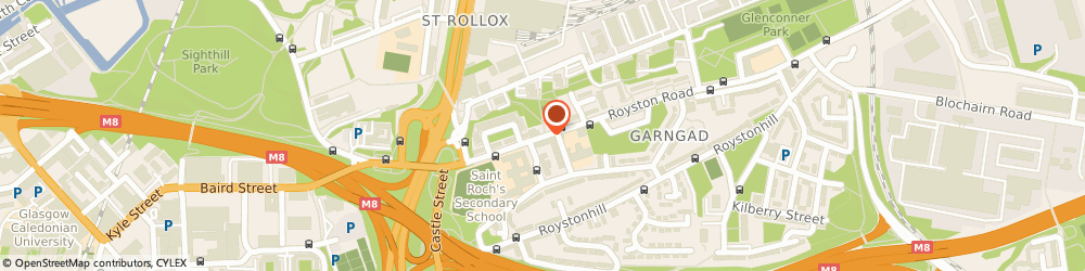 Route/map/directions to Royston Library, G21 2QW Glasgow, 67 ROYSTON ROAD