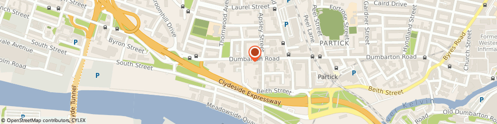 Route/map/directions to Radiator Gallery, G11 6RH Glasgow, 594 Dumbarton Rd, The Bathroom & Shower Centre