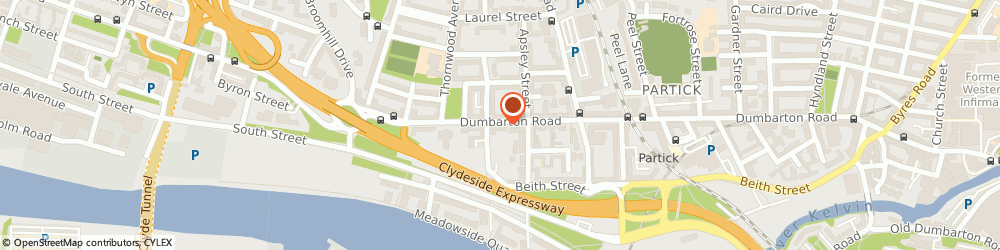 Route/map/directions to C J Plumbing & Heating, G11 6HU Glasgow, 565 Dumbarton Rd