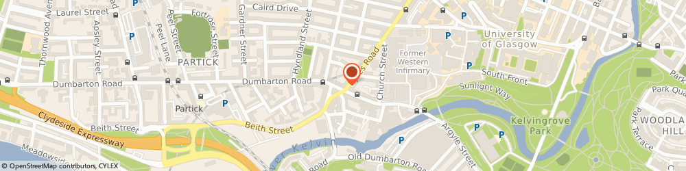 Route/map/directions to Speedy Dental Repairs, G11 6XE Glasgow, 150 Dumbarton Rd