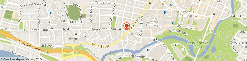 Route/map/directions to Oxfam, G11 6XE Glasgow, 162 Dumbarton Road