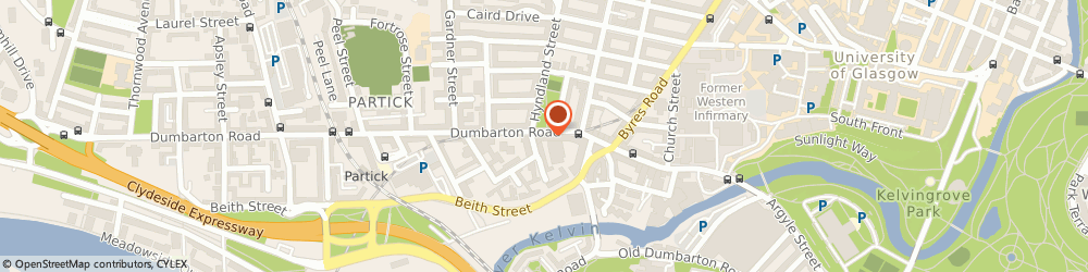 Route/map/directions to Free Media Limited, G11 6AA Glasgow, Iais Level One 211 Dumbarton Road