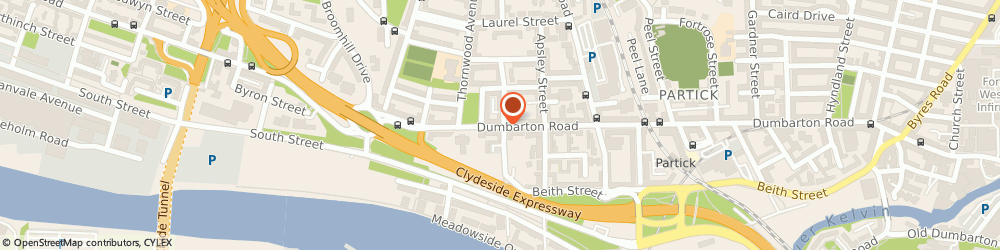 Route/map/directions to Classic Fireplaces, G11 6RJ Glasgow, 598 Dumbarton Road