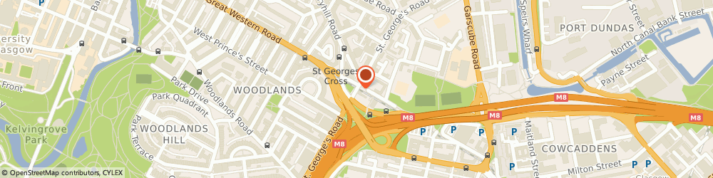 Route/map/directions to Prosper I T, G3 6JA Glasgow, 93-97 ST. GEORGES RD