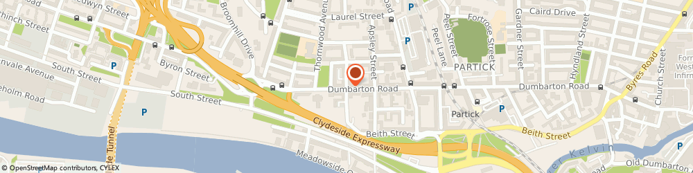 Route/map/directions to The Bathroom Centre, G11 6RH Glasgow, 594 Dumbarton Road