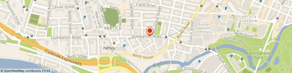 Route/map/directions to RBS The Royal Bank of Scotland GLASGOW, G11 6TD Glasgow, 280 Dumbarton Road