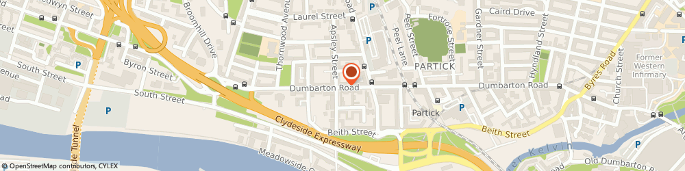 Route/map/directions to UPS Solutions Logistics, G11 6SW Glasgow, 534 Dumbarton Road