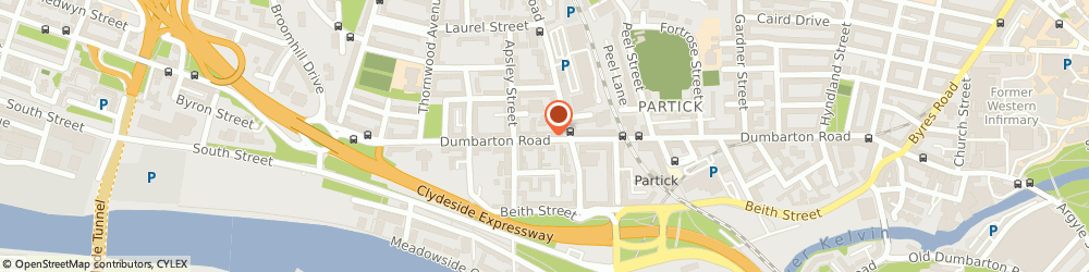 Route/map/directions to Focal Point Fireplaces, G11 6SN Glasgow, 504 Dumbarton Road