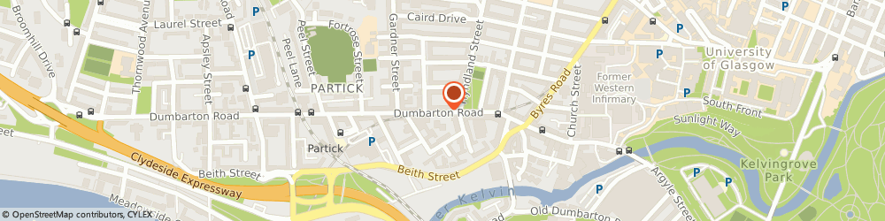 Route/map/directions to SUPERDRUG - Glasgow, G11 6TU Glasgow, Unit 4 252/254 Dumbarton Road