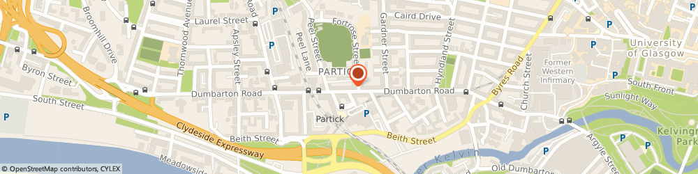 Route/map/directions to DPD Parcel Shop Location - Buchanan & Campbell Pharmacy, G11 6RZ Glasgow, 364A Dumbarton Road