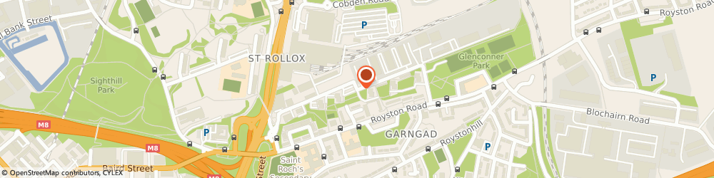 Route/map/directions to Rowebb Ltd, G21 2PR Glasgow, 33-53 Charles Street