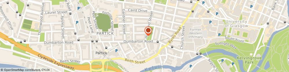 Route/map/directions to Scots & Knightswood Taxis, G11 5QE Glasgow, 21 HYNDLAND STREET
