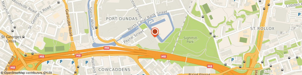 Route/map/directions to Wolseley, G4 0LB Glasgow, 100 Townsend Street
