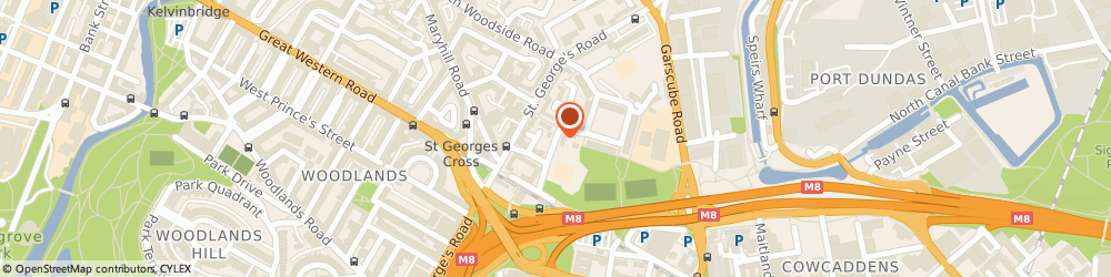 Route/map/directions to Oakgrove Primary School, G4 9PW Glasgow, 20 ST PETERS STREET
