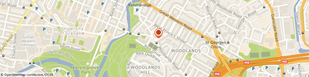 Route/map/directions to Krk Continental Cash & Carry, G3 6LF Glasgow, 140 Woodlands Rd
