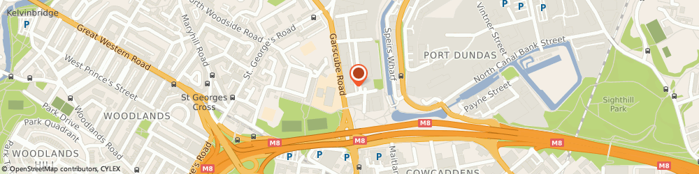 Route/map/directions to Royal Conservatoire of Scotland, G4 9RR Glasgow, 210 GARSCUBE ROAD