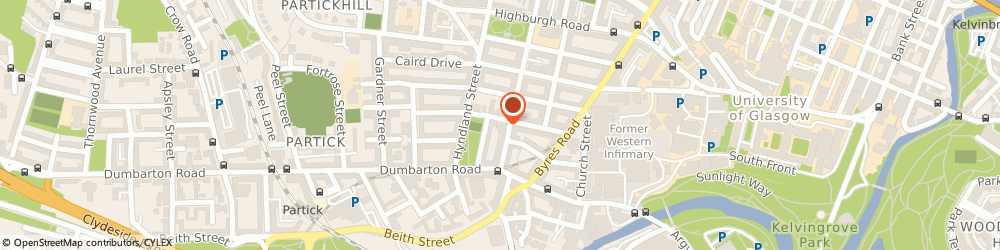 Route/map/directions to Dowanvale Free Church of Scotland, G11 5QR Glasgow, 35 Dowanhill St