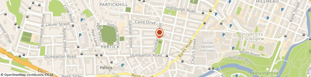 Route/map/directions to Hyndland Street Veterinary Surgery, G11 5QF Glasgow, 55 Hyndland St