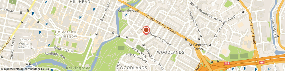 Route/map/directions to Gp Matters, G4 9ES Glasgow, 87 Barrington Drive