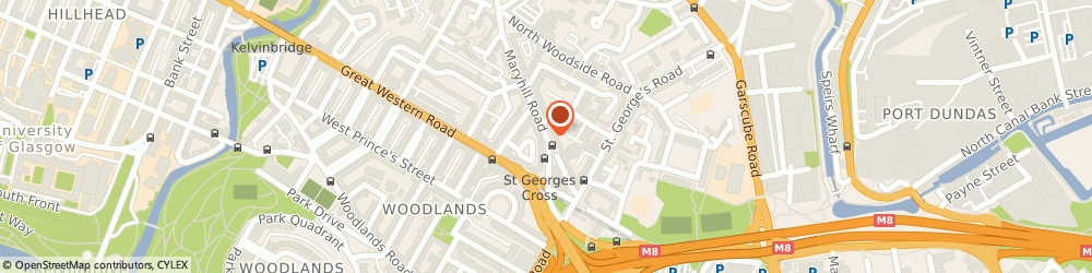 Route/map/directions to Sadco Enterprise Ltd, G20 7QB Glasgow, 94-98 St Georges Cross Maryhill Road