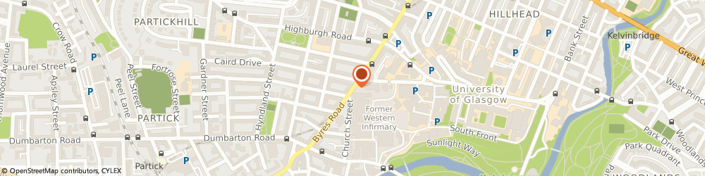Route/map/directions to Byres Road Counselling Practice, G11 5HQ Glasgow, Byres Road
