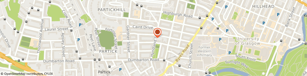 Route/map/directions to Pets-Cetra, G11 5PS Glasgow, 79 Hyndland Street