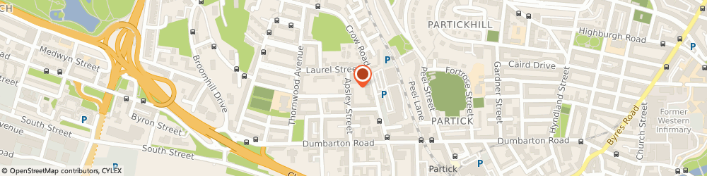 Route/map/directions to Hanover Housing Association Ltd, G11 7SW Glasgow, 60 Apsley Street